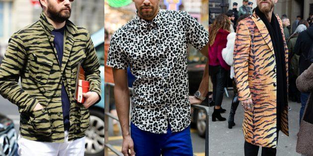 Мужская мода 2018–2019: Хищные принты