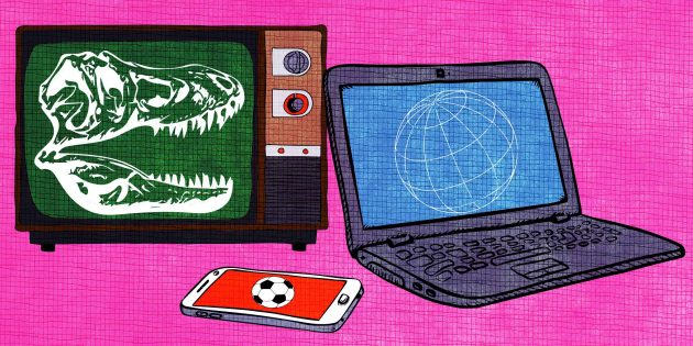 цифровое ТВ и интернет