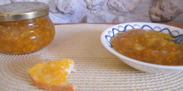 Варенье из кабачков с яблоками и изюмом