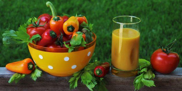фреши рецепты: Овощной фреш с перцем и огурцом