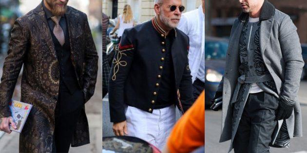 Мужская мода 2018–2019: Восточные мотивы