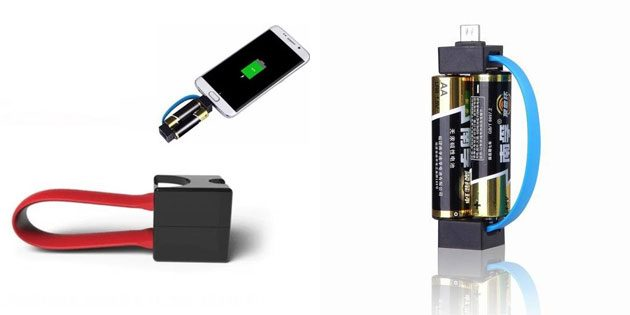Зарядное устройство на батарейках