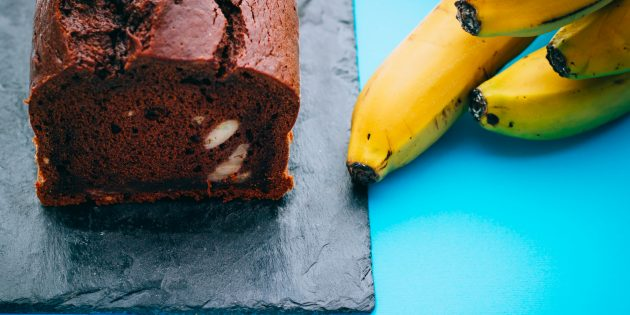 10 банановых пирогов с шоколадом, карамелью, сливочным кремом и не только