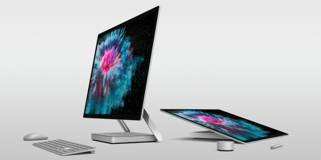 презентация Microsoft: Surface Studio 2