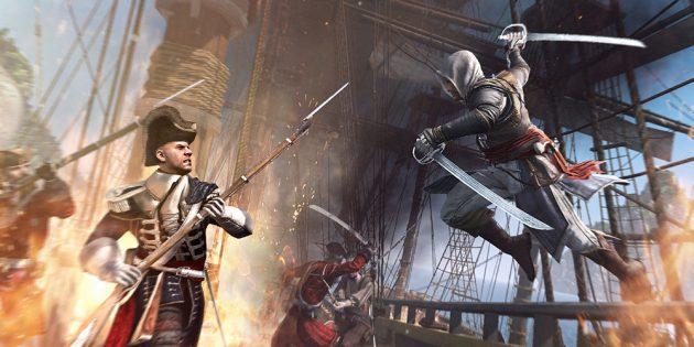Игры про пиратов: Assassin's Creed 4: Black Flag