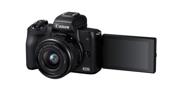 Лучшие фотоаппараты: Canon EOS M50