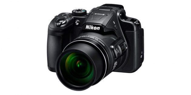Лучшие фотоаппараты: Nikon Coolpix B700