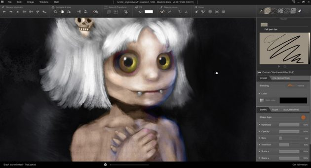 Платные программы для рисования на компьютере: BlackInk