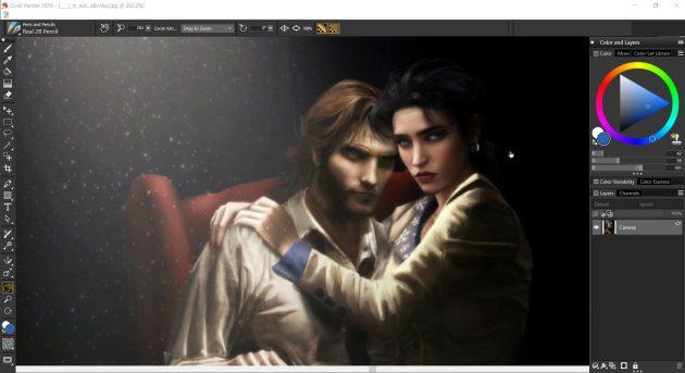 Платные программы для рисования на компьютере: Corel Painter
