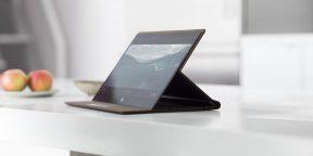 Штука дня: ноутбук-трансформер HP с корпусом из кожи