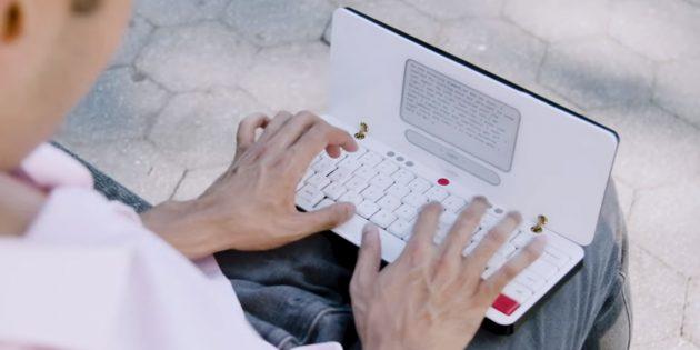 Пишущая машинка: Внешний вид