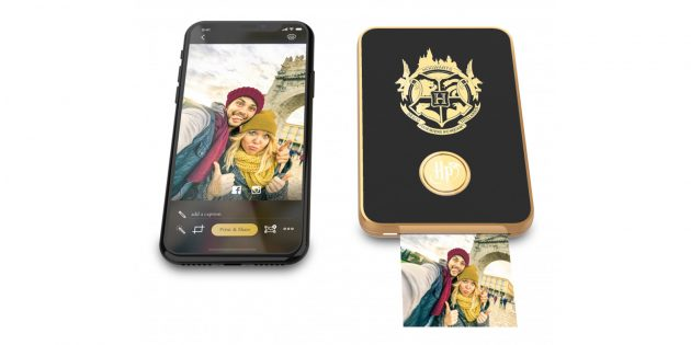 живые фотографии: Harry Potter Magic Photo and Video Printer