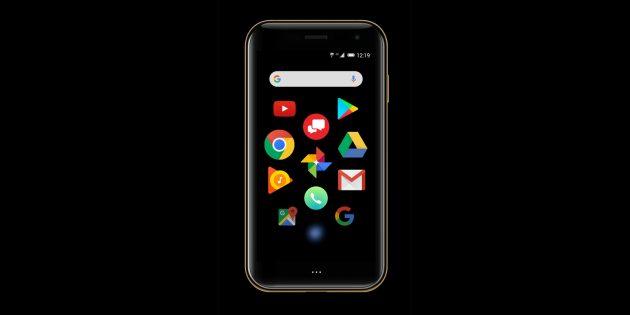 маленький смартфон Palm