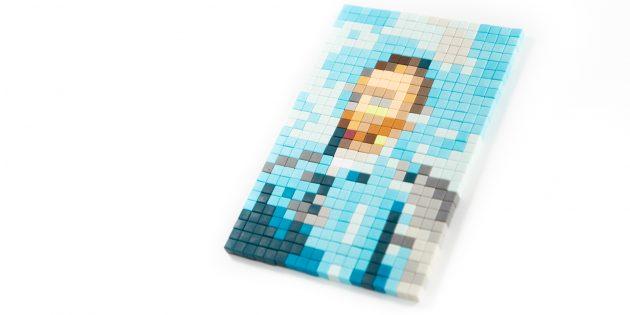 Магнитные кубики Pixl