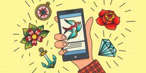 34 онлайн-ресурса для тех, кто любит татуировки