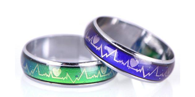 Кольцо, меняющее цвет