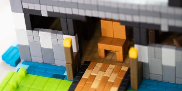 Pixl: фигурки из кубиков