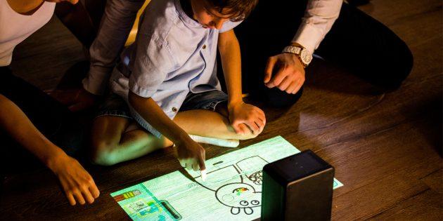 Домашний проектор: Изображение на полу
