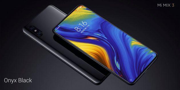 Xiaomi Mi MIX 3: Внешний вид