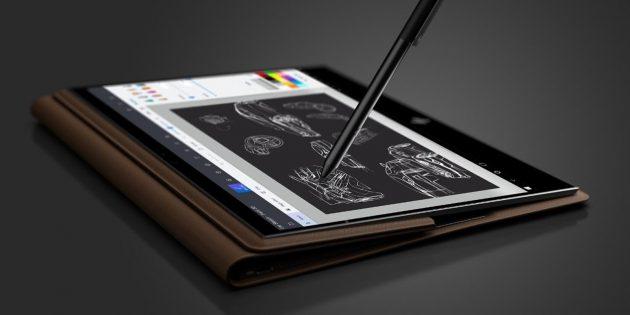 ноутбук-трансформер HP: Использование стилуса