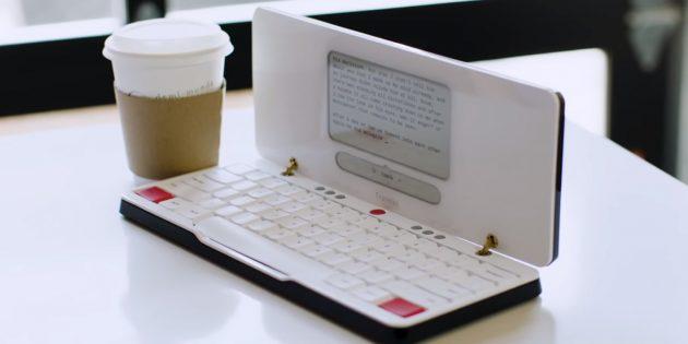 Пишущая машинка: Freewrite Traveler