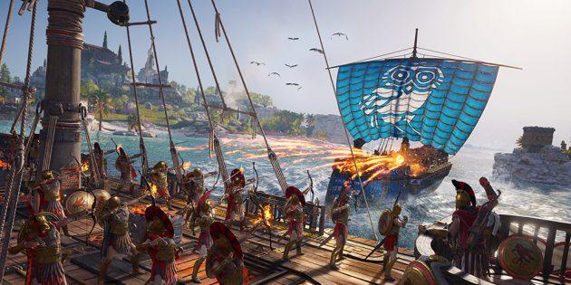 Лучшие игры с открытым миром: Assassin's Creed Odyssey