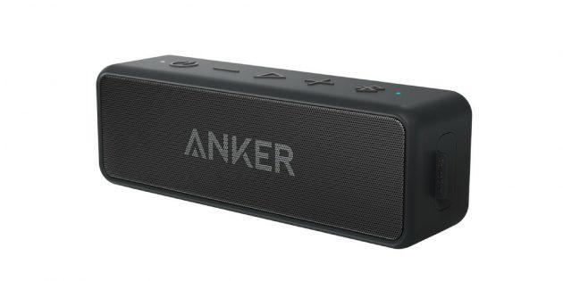Лучшие портативные колонки: Anker SoundCore 2