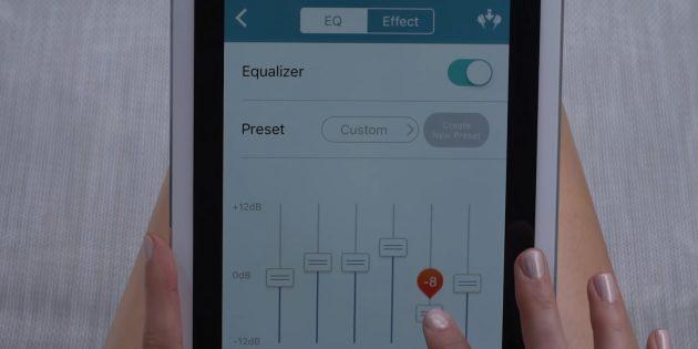 наушники для телефона: Приложение с эквалайзером