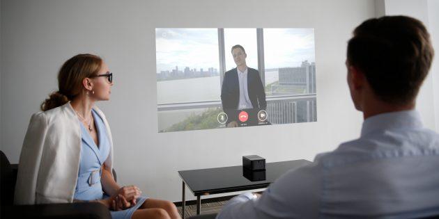 Домашний проектор: Изображение на стене