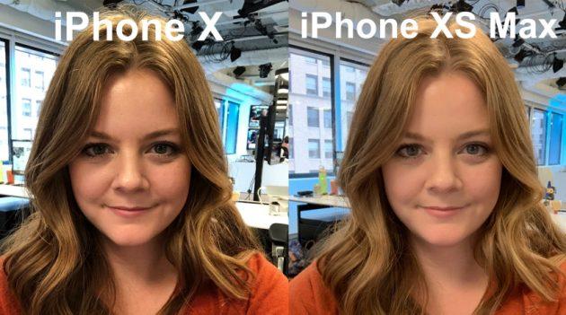 проблемы iPhone: Сглаживание цвета кожи