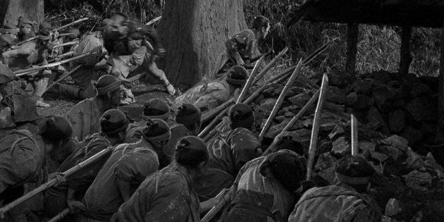 Семь самураев: трусость агрессоров