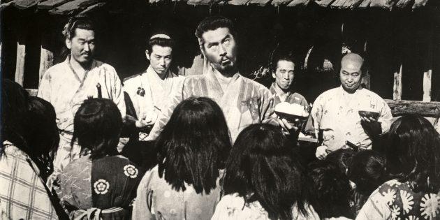 Семь самураев: бесстрашие