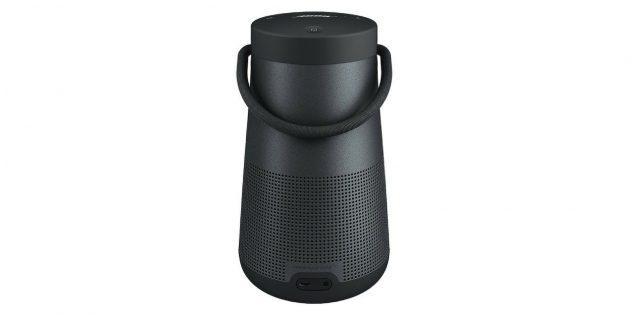Лучшие портативные колонки: Bose SoundLink Revolve Plus