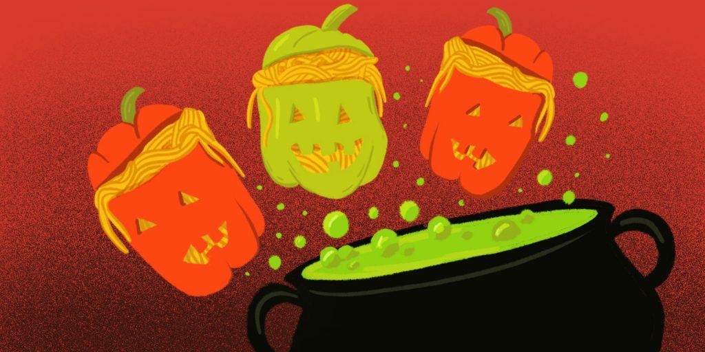 Какое блюдо можно сделать на хэллоуин