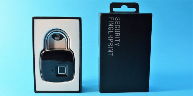 умный замок USB Rechargeable Smart Keyless Fingerprint Lock