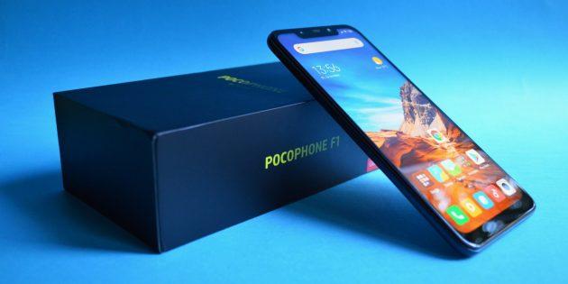 обзор Xiaomi Pocophone F1: Коробка