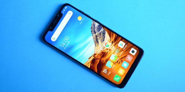 обзор Xiaomi Pocophone F1: Внешний вид