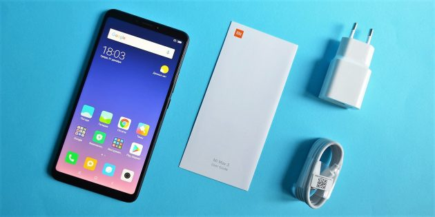 обзор Xiaomi Mi Max 3: Комплектация