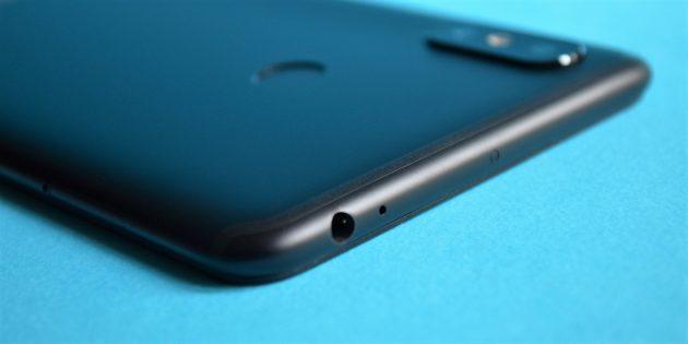 обзор Xiaomi Mi Max 3: Разъём для наушников