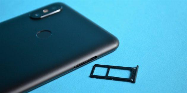 обзор Xiaomi Mi Max 3: Лоток