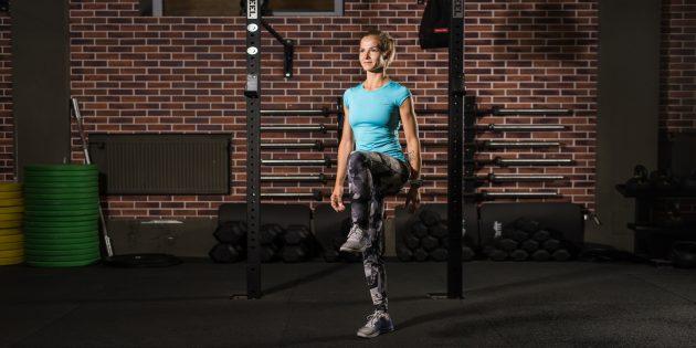 эффективные упражнения: Баланс на одной ноге