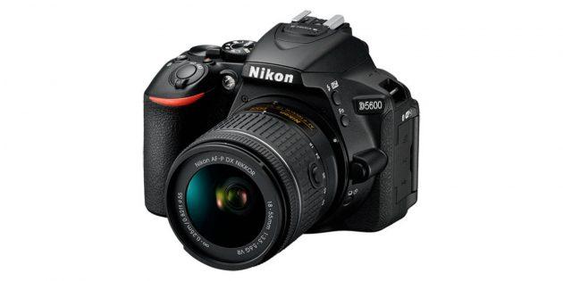 Лучшие фотоаппараты: Nikon D5600