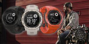 Garmin представила сверхпрочные умные часы Instinct