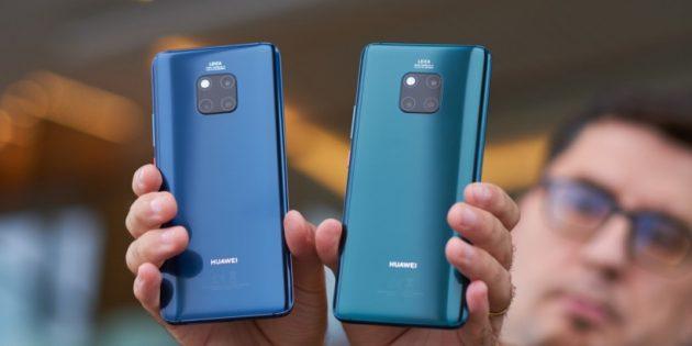 Huawei Mate 20 и Mate 20 Pro: камеры
