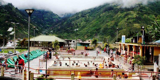 Термальные источники в Эквадоре