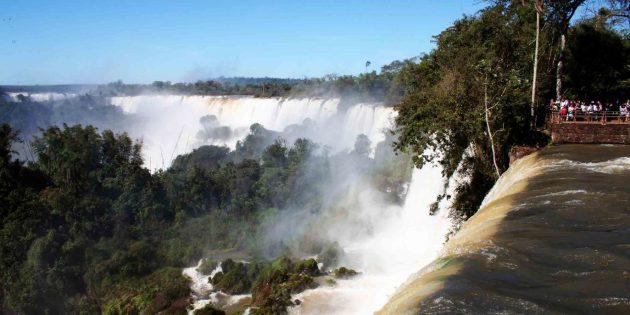 Водопад в Аргентине