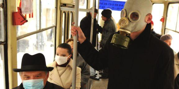 Как не подхватить вирус в общественном транспорте