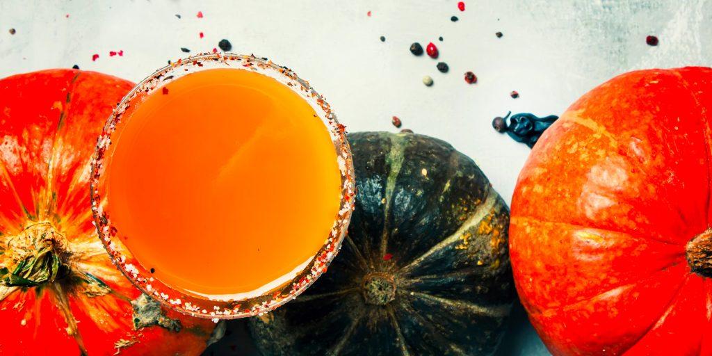 Как приготовить вкусный тыквенный сок на зиму