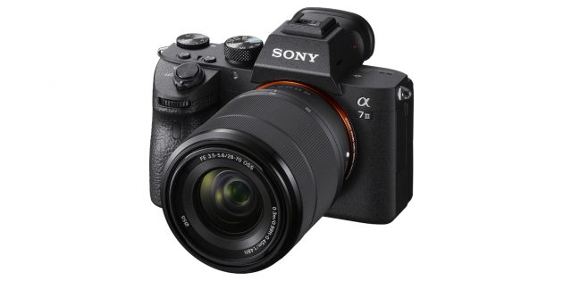 Лучшие фотоаппараты: Sony A7III