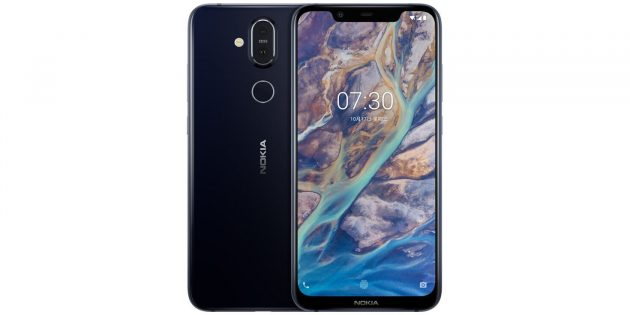 Nokia X7: Экран с вырезом